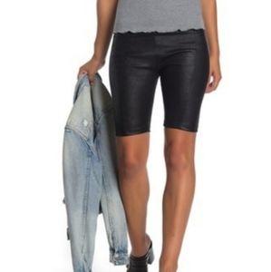 Heatwave Faux Suede Bike Shorts